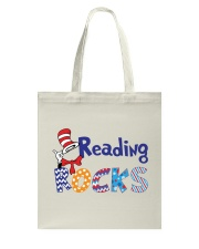 READING ROCKS Tote Bag thumbnail