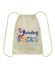 READING ROCKS Drawstring Bag thumbnail
