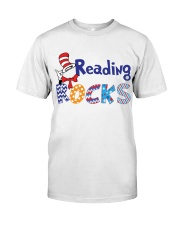 READING ROCKS Classic T-Shirt front