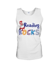 READING ROCKS Unisex Tank thumbnail