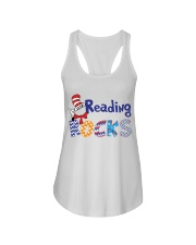 READING ROCKS Ladies Flowy Tank thumbnail