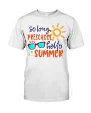 PRESCHOOL Classic T-Shirt front
