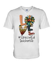 SPED TEACHER V-Neck T-Shirt thumbnail