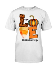 LOVE TODDLER TEACHER Classic T-Shirt front