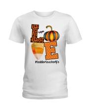 LOVE TODDLER TEACHER Ladies T-Shirt thumbnail