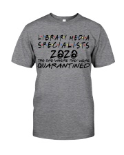 LIBRARY MEDIA SPECIALISTS Classic T-Shirt front