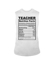 TEACHER NUTRITION FACTS Sleeveless Tee thumbnail