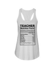TEACHER NUTRITION FACTS Ladies Flowy Tank thumbnail
