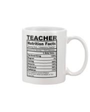 TEACHER NUTRITION FACTS Mug thumbnail