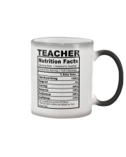 TEACHER NUTRITION FACTS Color Changing Mug thumbnail
