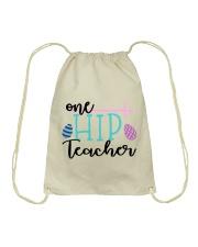 ONE HIP TEACHER Drawstring Bag thumbnail