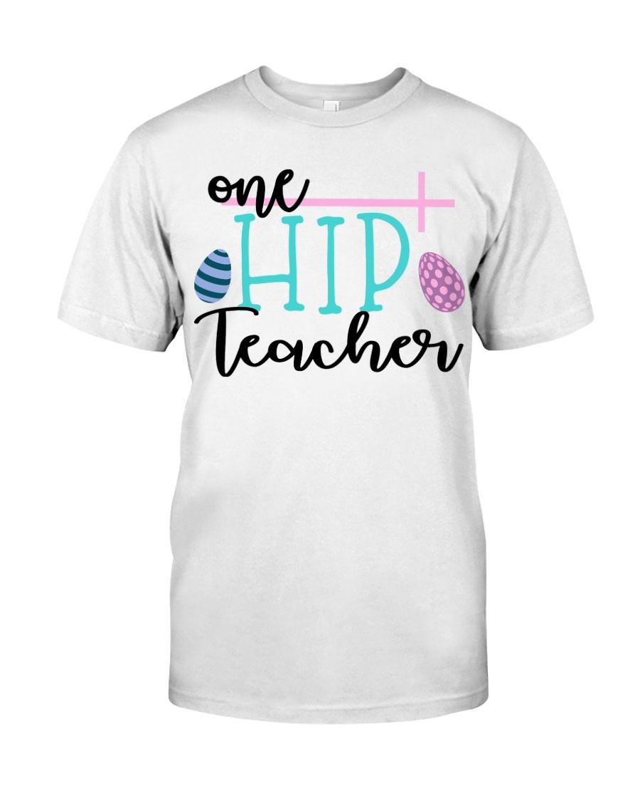 ONE HIP TEACHER Classic T-Shirt
