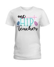 ONE HIP TEACHER Ladies T-Shirt thumbnail