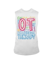 OCCUPATIONAL THERAPY TYPOGRAPHIC  Sleeveless Tee thumbnail