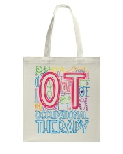 OCCUPATIONAL THERAPY TYPOGRAPHIC  Tote Bag thumbnail