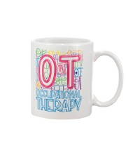 OCCUPATIONAL THERAPY TYPOGRAPHIC  Mug thumbnail