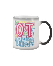 OCCUPATIONAL THERAPY TYPOGRAPHIC  Color Changing Mug thumbnail