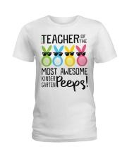 KINDERGARTEN PEEPS Ladies T-Shirt front
