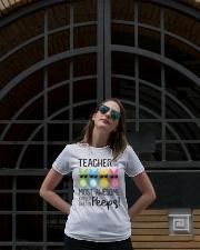 KINDERGARTEN PEEPS Ladies T-Shirt lifestyle-women-crewneck-front-1