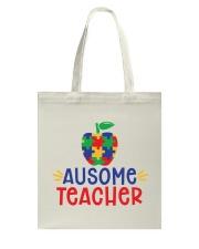 AUSOME TEACHER Tote Bag thumbnail