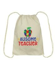 AUSOME TEACHER Drawstring Bag thumbnail