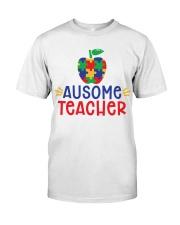 AUSOME TEACHER Classic T-Shirt front