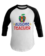 AUSOME TEACHER Baseball Tee thumbnail