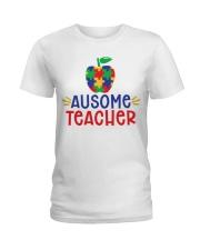 AUSOME TEACHER Ladies T-Shirt thumbnail