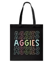AGGIES RAINBOW Tote Bag thumbnail