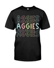 AGGIES RAINBOW Classic T-Shirt front