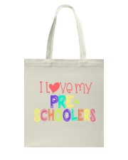 PRESCHOOLERS - I LOVE YOU Tote Bag thumbnail