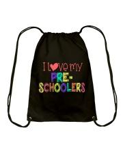 PRESCHOOLERS - I LOVE YOU Drawstring Bag thumbnail