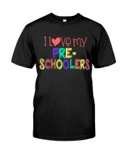PRESCHOOLERS - I LOVE YOU Classic T-Shirt thumbnail