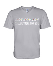 COUNSELOR - I WILL BE THERE FOR YOU V-Neck T-Shirt thumbnail