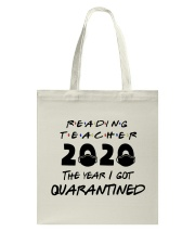 READING TEACHER Tote Bag thumbnail