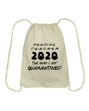 READING TEACHER Drawstring Bag thumbnail