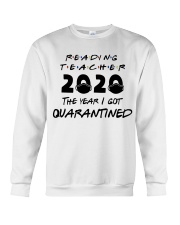READING TEACHER Crewneck Sweatshirt thumbnail