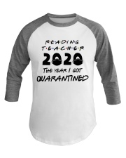 READING TEACHER Baseball Tee thumbnail