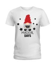 GNOMIES 100 MAGICAL DAYS Ladies T-Shirt thumbnail