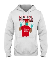 RED - NOTHING CAN STOP ME Hooded Sweatshirt thumbnail