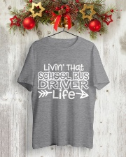 SCHOOL BUS DRIVER Classic T-Shirt lifestyle-holiday-crewneck-front-2