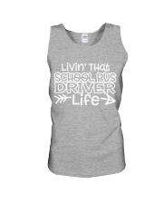SCHOOL BUS DRIVER Unisex Tank thumbnail