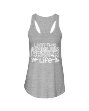 SCHOOL BUS DRIVER Ladies Flowy Tank thumbnail