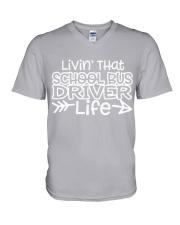 SCHOOL BUS DRIVER V-Neck T-Shirt thumbnail