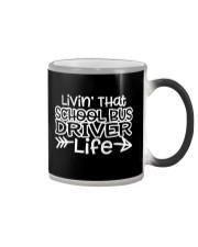 SCHOOL BUS DRIVER Color Changing Mug thumbnail