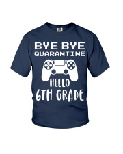 HELLO 6TH GRADE Youth T-Shirt front