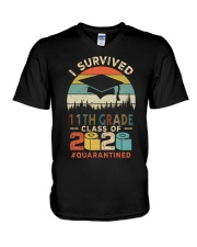 11TH GRADE  V-Neck T-Shirt tile