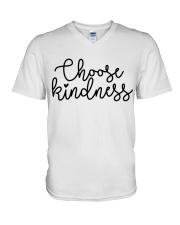 CHOOSE KINDNESS V-Neck T-Shirt thumbnail
