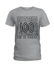 KINDERGARTEN TYPO Ladies T-Shirt thumbnail