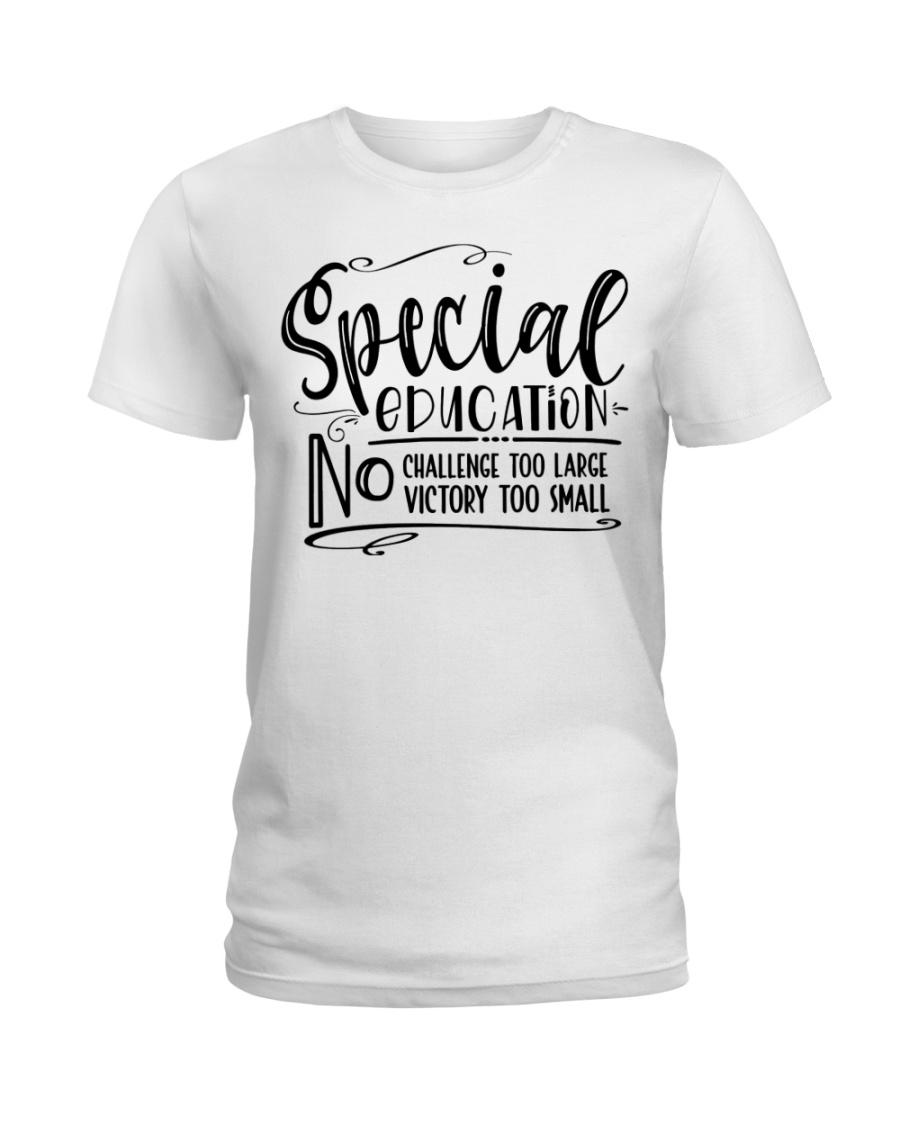 SPED CHALLENGE Ladies T-Shirt